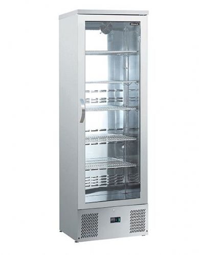 Blizzard BAR10SS Upright Single Door Ss Bar Bottle Cooler (324 Btl)